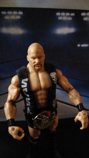 WWF Mattel Stone Cold Steve Austin for Sale in Houston, TX