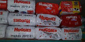 Huggies diapers packs for Sale in Lehigh Acres, FL