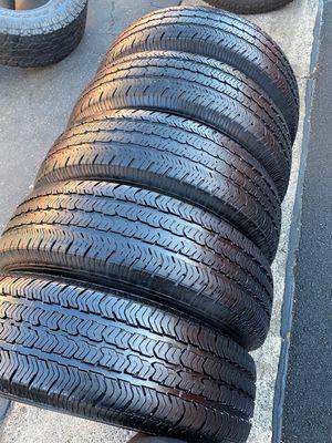 (5) 225/75R16 Goodyear Wrangler - $220 for Sale in Santa Ana, CA