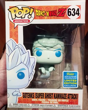 Summer Convention Gotenks Super Ghost Kamikaze Attack from Dragonball Z Limited Edition Vinyl Figure for Sale in South Miami, FL