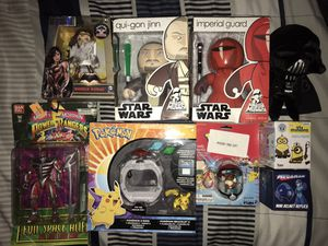 Pokemon, Star Wars, Power Ranger Toy Lot for Sale in Hartford, CT