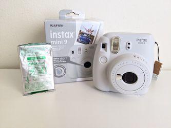 White Instax Mini 9 camera with film for Sale in Union City,  CA