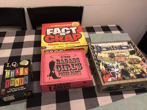 Free board games for Sale in McLean, VA
