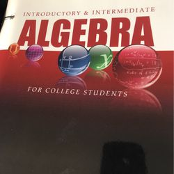 Blitzer Introductory & Intermediate Algebra for Sale in Sheffield Lake,  OH
