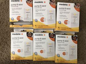 Medela breastmilk bags for Sale in Sunnyvale, CA