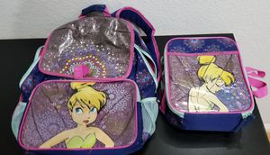 Tinkerbell School Bag & Lunch Box for Sale in San Diego, CA