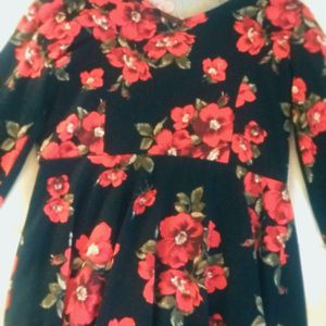 A Dress With Red Flowers for Sale in Miami, FL