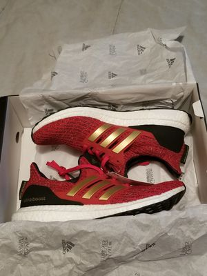 New Adidas Ultraboost Game Of Thrones House Lannister size 8w / 9w for Sale in Fallsington, PA