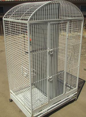 Giant 6ft Tall Bird Cage for Macaw Parrots Etc. Double Cage Dometop Avain Paradise by Horizon Very Nice! for Sale in Lake Elsinore, CA