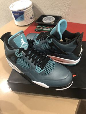 Jordan 4 teal for Sale in Sacramento, CA