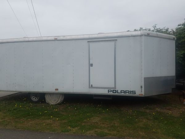 2007 27ft cargomate snowbird enclosed
