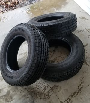 Used Michelin Ltx tires 225/70R16 (3) for Sale in Springfield, VA