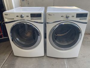 WHIRLPOOL WASHER & DRYER for Sale in Riverside, CA