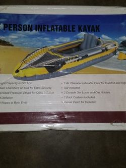 One Person Inflatable Kayak. for Sale in Buena Park,  CA