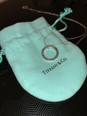 Tiffany and Co 1837® Circle Pendant neck for Sale in San Francisco, CA