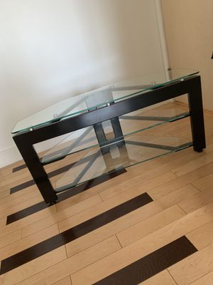 Glass TV Stand for Sale in West Springfield, VA