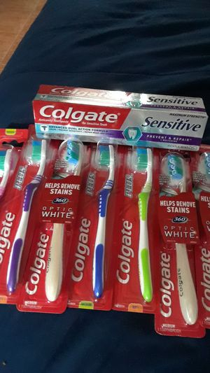 Colgate Toothpaste & Toothbrushes for Sale in Miami, FL