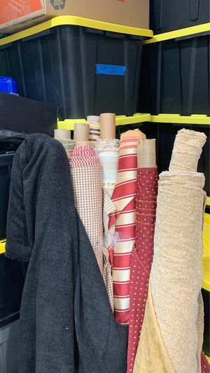 22 ROLLS OF FABRIC (many designs) for Sale in Littleton, CO