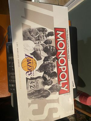 Collectible Monopoly lakers board game for Sale in Los Angeles, CA
