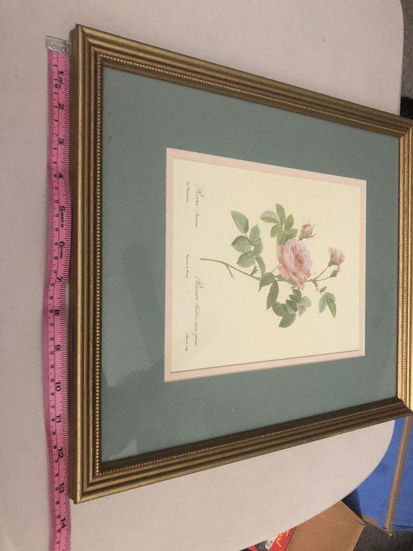 Pair of Beautiful rose artwork