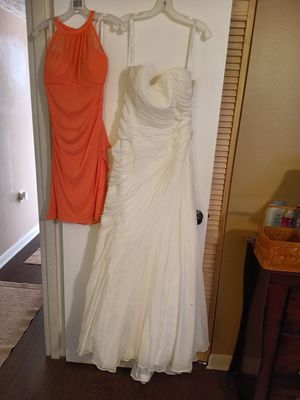David's Bridal wedding dress and bridesmaid dress for Sale in Columbus, OH