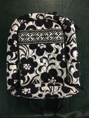Vera Bradley Day & Night Black and White Backpack for Sale in San Ramon, CA