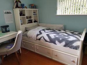 2 PC Bedroom Set - Kids/Teen Bed Frame with LOTS of Storage and Ardmoire for Sale in East Los Angeles, CA