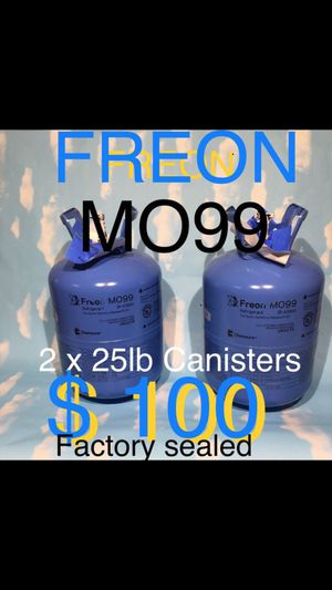 MO99 25lb FREON /Factory sealed 2 for $100 for Sale in Virginia Beach, VA