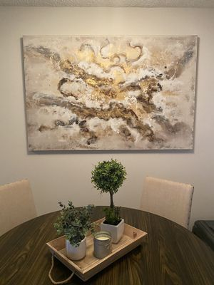 Large gold speckle painting for Sale in Fort Lauderdale, FL