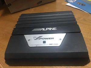 Alpine amplifier for Sale in Las Vegas, NV