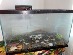 30 Gallon Fish Tank with lots of Accessories for Sale in Downey, CA