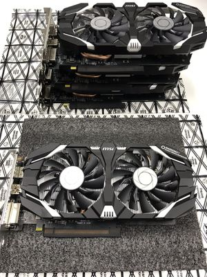Brand New MSI GeForce GTX 1060 3GT OC VR Ready Graphics Card for Sale in Los Angeles, CA