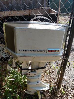 Chrystler 55 hp outboard motor for Sale in Gresham, OR