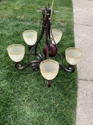 BROWN LAMP for Sale in Bolingbrook, IL