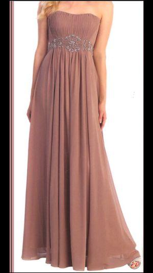 Mocha bridesmaid/prom dress for Sale in Norcross, GA
