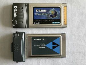 PCMCIA Ethernet Cards, Linksys and D-Link, $5 for Two for Sale in Renton, WA