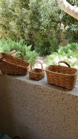 Longaberger Baskets for Sale in Scottsdale, AZ