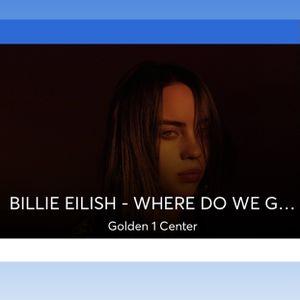 Billie Eilish Concert Tickets for Sale in Sacramento, CA