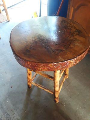 Custom handmade end table for Sale in Chesapeake, VA