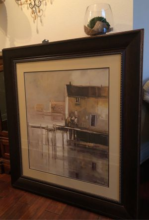 """New England mood framed art 40.5"""" x 44.5"""" by Bombay company for Sale in Brandon, FL"""