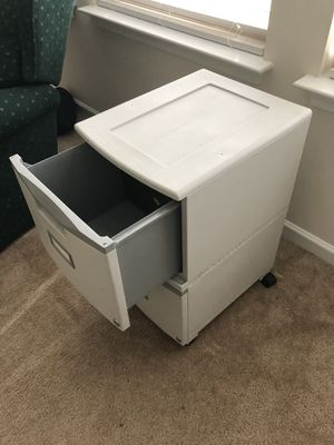 Plastic file cabinet for Sale in Graham, NC