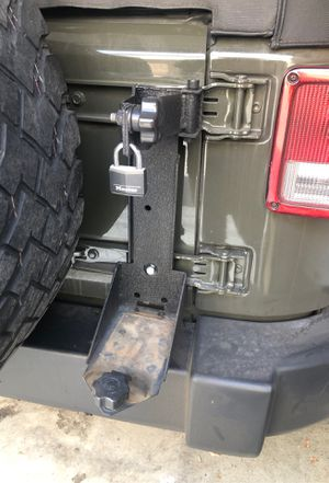 High Jack Lift Mount Holder For Jeep Wrangler for Sale in Costa Mesa, CA