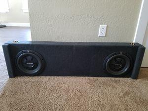 Rockford Fosgate subs and amp for Sale in Salt Lake City, UT