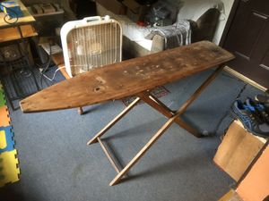 Antique ironing board for Sale in Ghent, WV