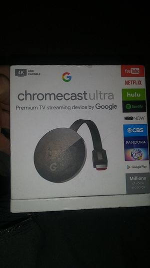 Chromecast Ultra for Sale in Dallas, TX