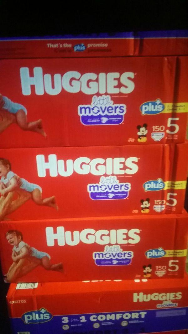 Huggies Little movers plus+