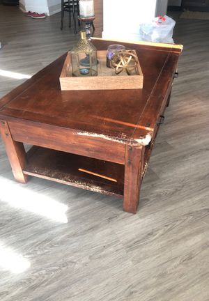 World marker Coffee table sold with decorations for Sale in Austin, TX