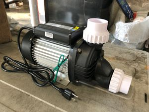 1500 watt 2hp 7140 GPH Spa bathtubs hot tubs hydro massage water pump 120v for Sale in Rowland Heights, CA