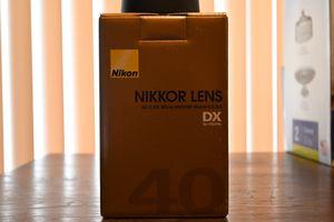 Nikon Nikkor Micro 40mm 2.8 Lens for Sale in Glendale, AZ