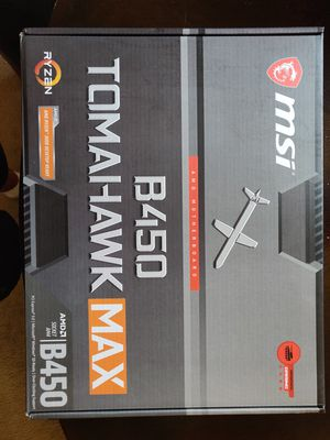 MSI Tomahawk B450 Max for Sale in Surprise, AZ